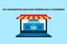Os 5 segmentos que mais vendem no E-commerce
